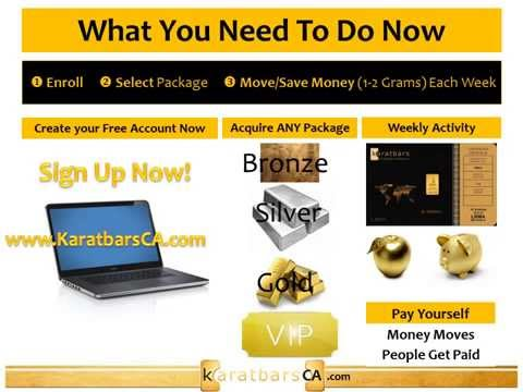 Karatbars - How to make money on the 12 week plan