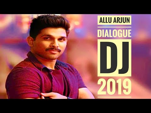 2019 Allu Arjun Dialogue DJ Remix Telugu Song 🤡🤡🤡