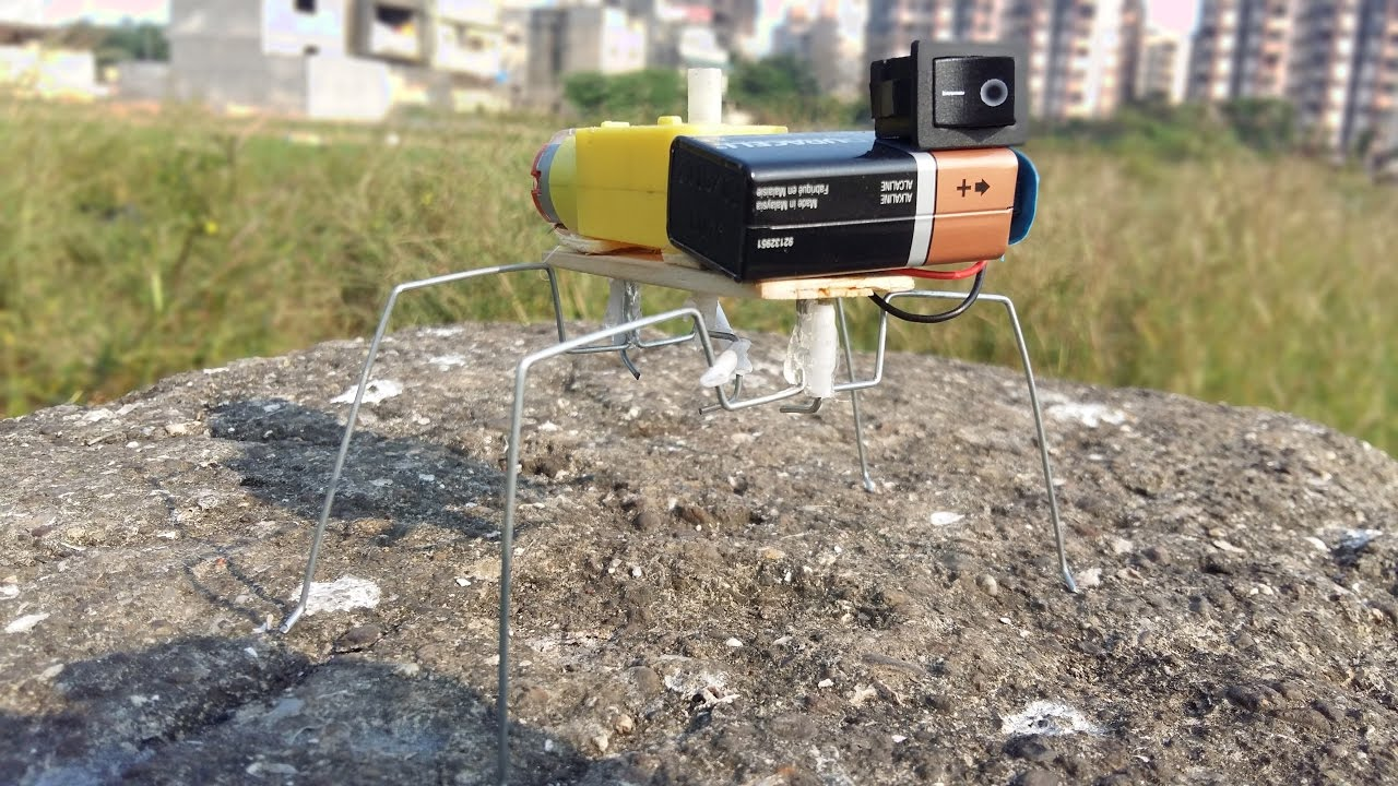 Download How to Make a Walking Insect Robot ( VERY EASY )