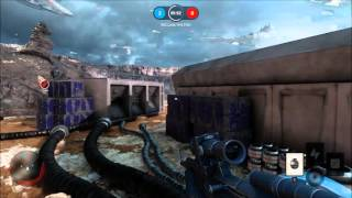 Star Wars Battlefront 5 min Gameplay (beta)