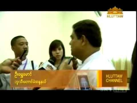 Interviewes of MRTV & Hluttaw News Channel