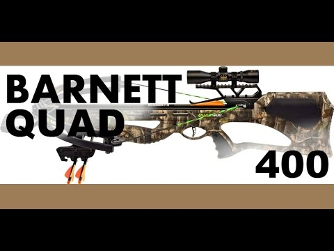 Barnett Quad 400 Crossbow Review, Specs, Cocking device, parts, manual