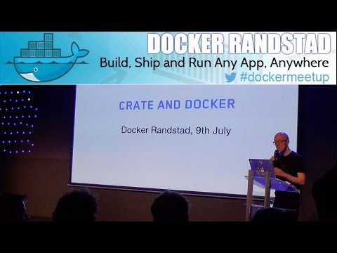 Crate and Docker: Scale Your Database like Your Application