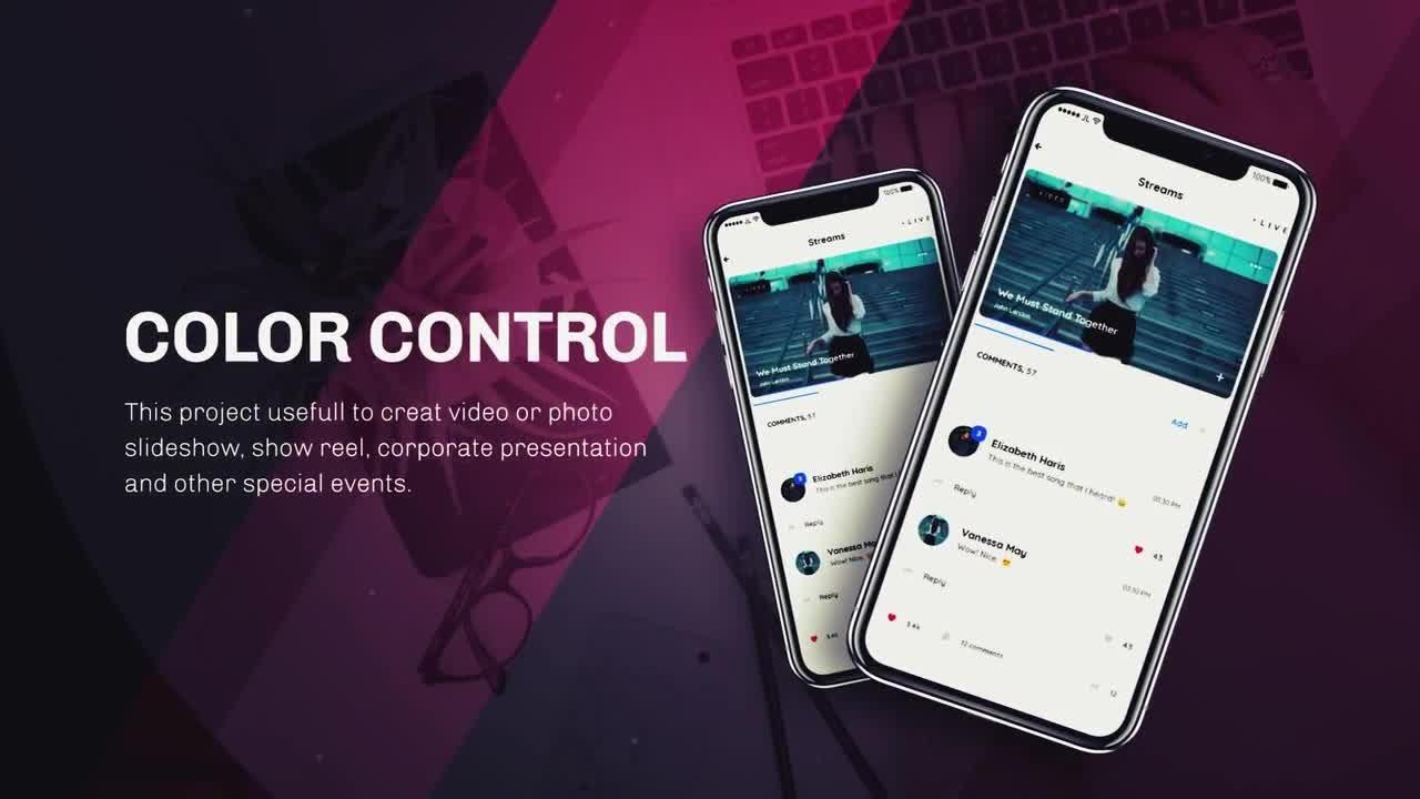 App Presentation Premiere Pro Templates