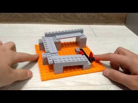 Как сделать конструкцию из LEGO для шарика