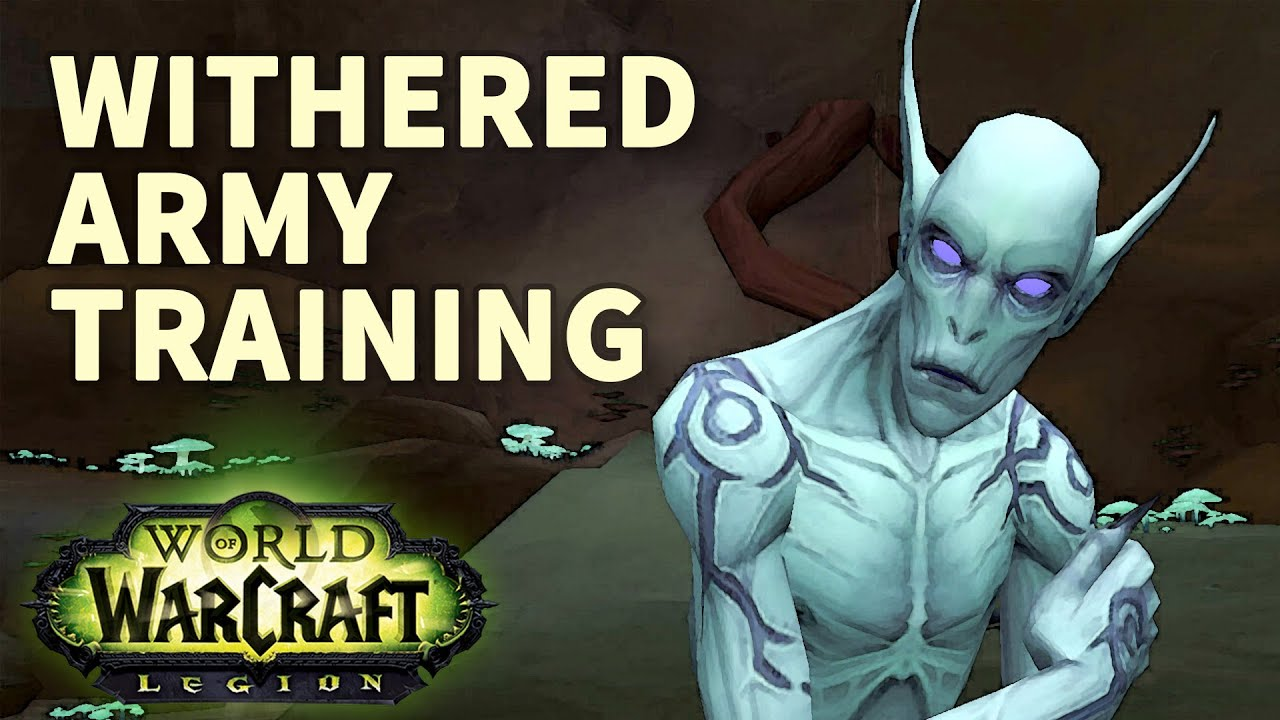 how to get withered training