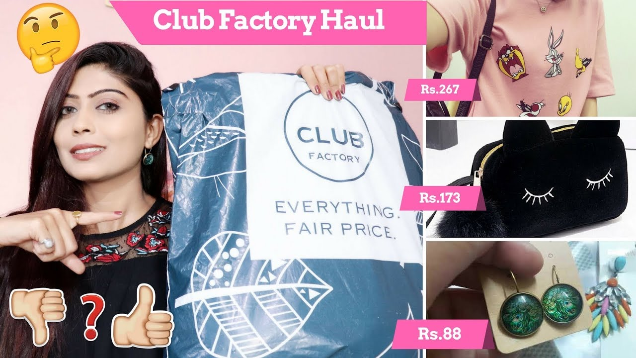 club factory haul review part 1 india online shopping rinkal soni youtube. Black Bedroom Furniture Sets. Home Design Ideas