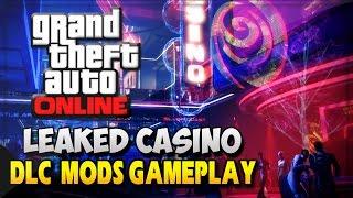 GTA 5 DLC Online - GTA V Casino DLC Gameplay Of Exterior (GTA 5 Online Mods Gameplay)