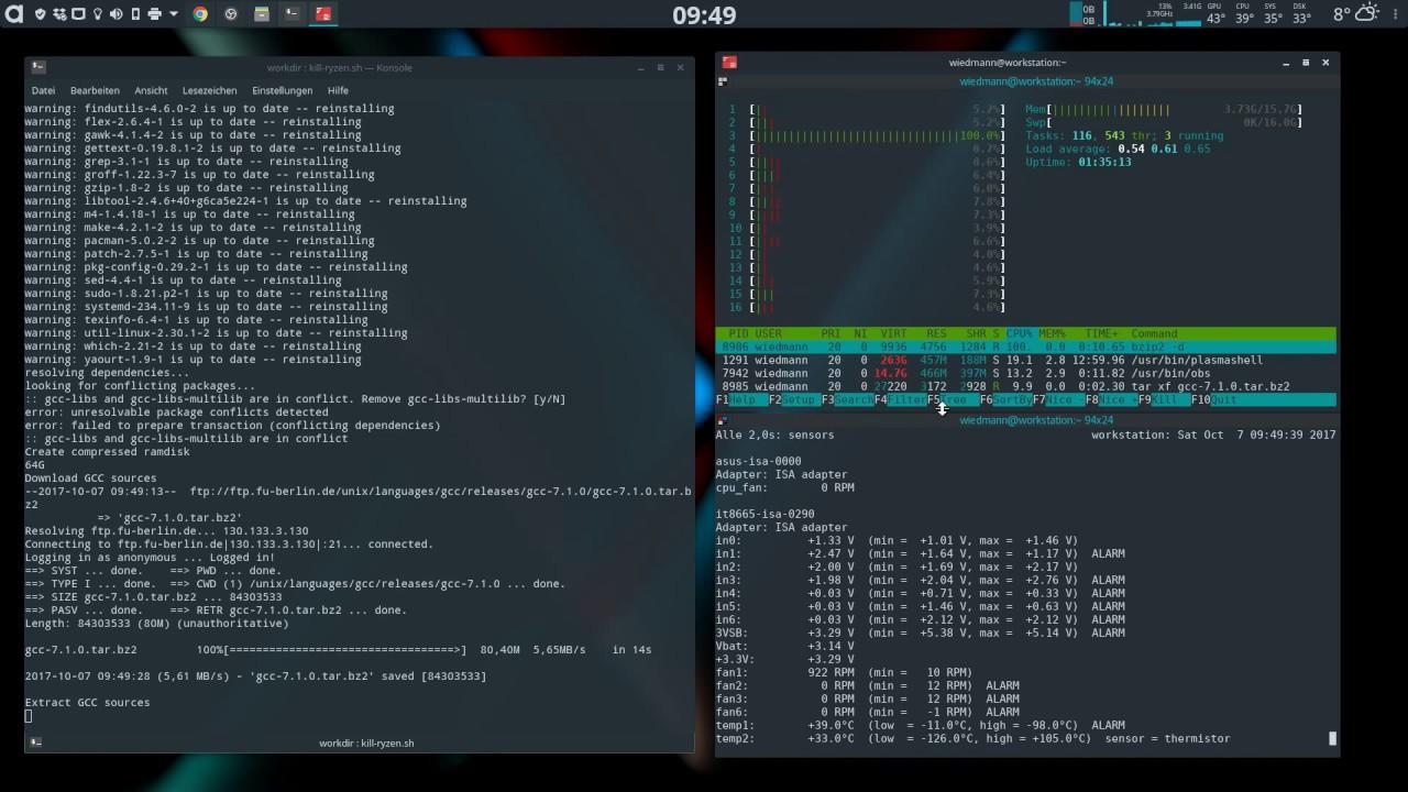 AMD Ryzen Linux SegFault Bug