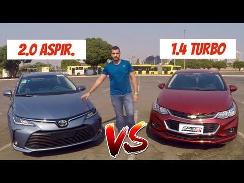 Toyota Corolla 2.0 2020 Vs Chevrolet Cruze 1.4 Turbo 2018 - Aceleramos As Máquinas
