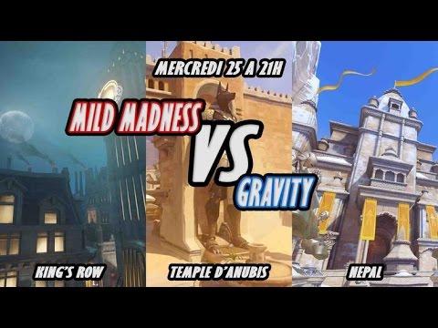 Scrim Mild Madness VS Gravity