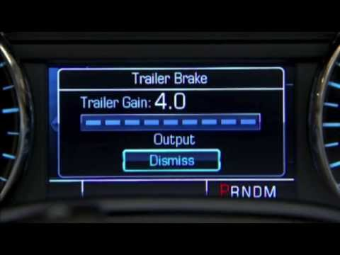 Ford Trailer Brake Control Wiring Diagram How To Operating The Trailer Brake Controller 2014