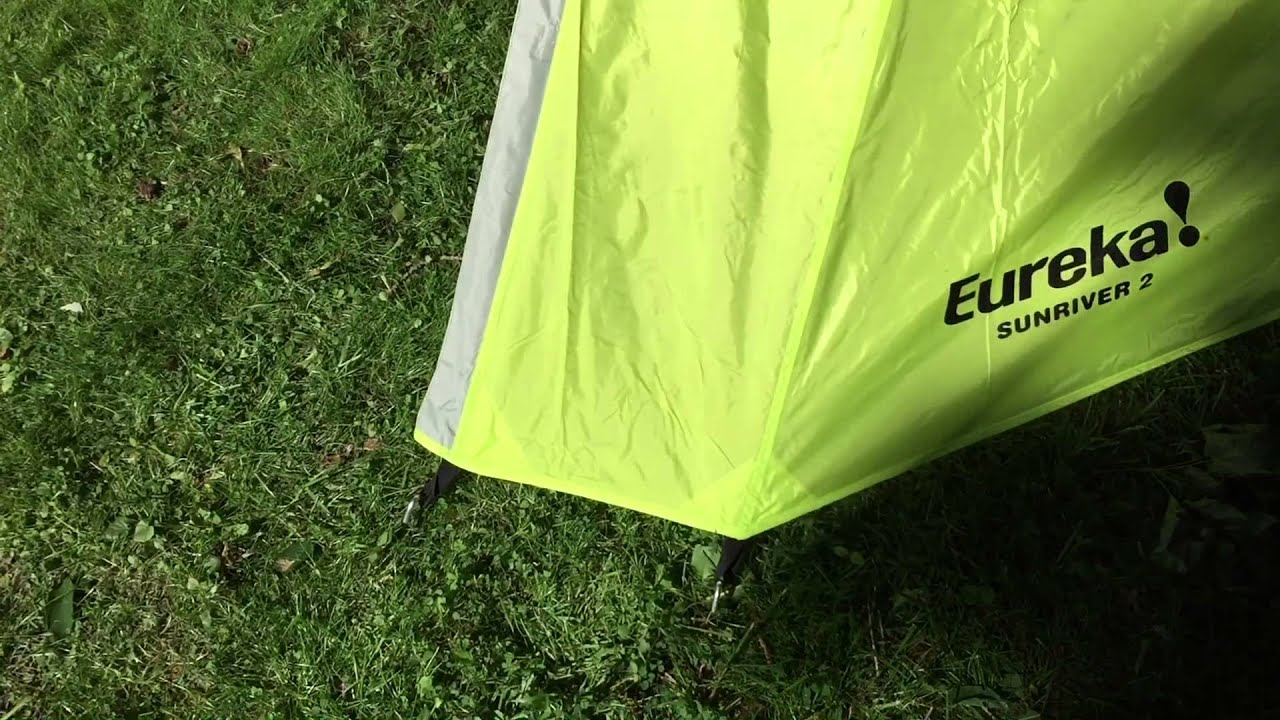 First Look - Eureka Sunriver 2 Backcountry Tent & First Look - Eureka Sunriver 2 Backcountry Tent - YouTube