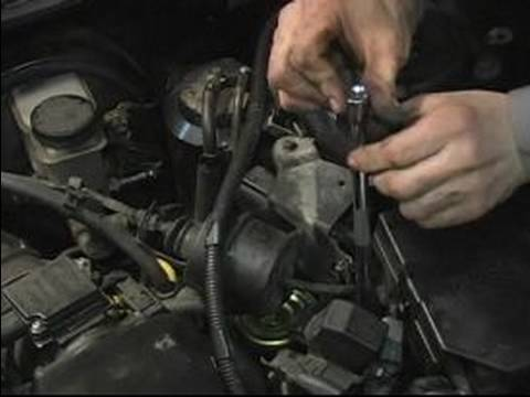 Change a Fuel Filter : Install Fuel Filter Parts - YouTube