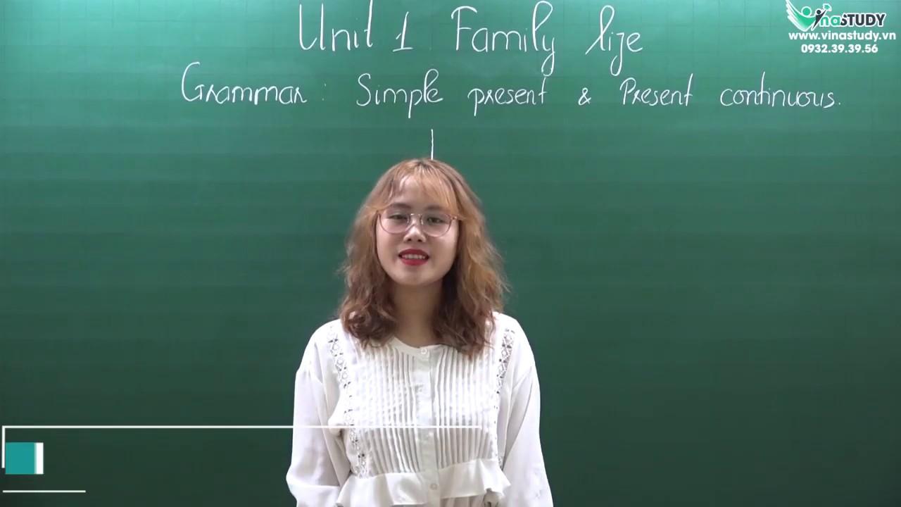 [Tiếng Anh 10] Unit 1: Family life – Cô Ngọc Anh – Liên hệ: 0932.39.39.56