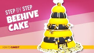 How To Make a Beehive Cake! | Step By Step | How To Cake It