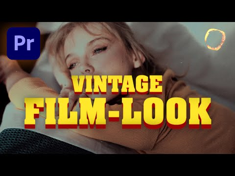 Retro Film Look Effect Tutorial | Premiere Pro And After Effects