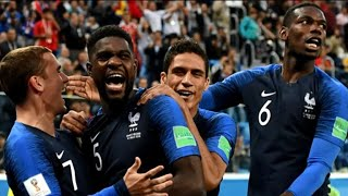 France and Croatia to face off in World Cup final