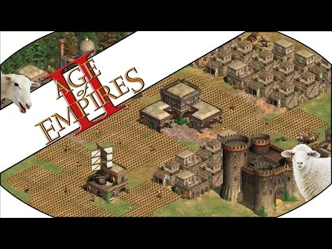 SHEEP STEALING - Age of Empires II HD Multiplayer Gameplay!