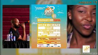 Wizkid, 2Baba, Mayorkun, Ycee, Maleek Berry To Storm Lagos At #GidiFest2018