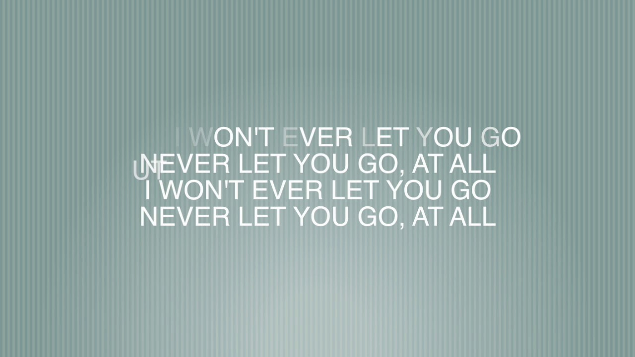 Never let you go - Kygo ft. John Newman Lyrics - YouTube