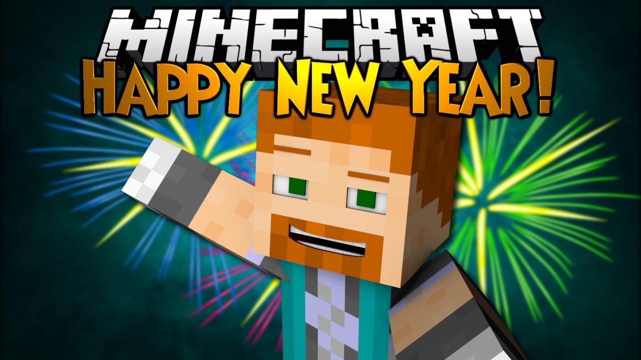 minecraft happy year youtube