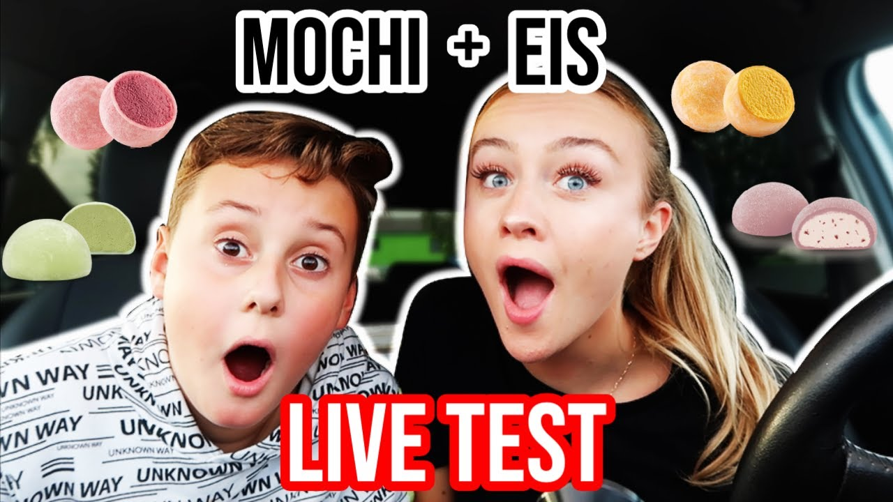 1 Tag ALLE MOCHIS + MOCHI EIS essen LIVE TEST!!! KRASS! 😳  -  Food Challenge PIA