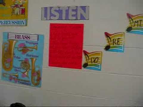 My Elementary Music Classroom