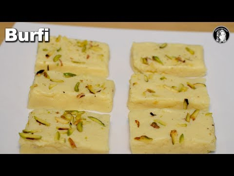 Milk Powder Burfi Recipe - Easy Burfi Recipe - Kitchen With Amna