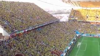 ЧМ-2014 в Бразилии. Матч-открытие между сборными командами Бразилии и Хорватии. 12.06.2014