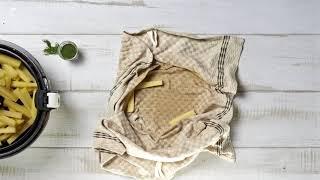Tefal ActiFry - Пържени картофи с копър