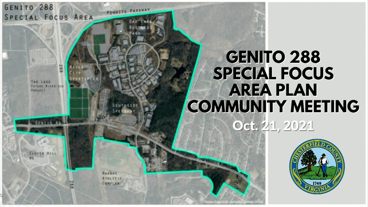 Download Community Meeting on Genito/Route 288 Special Focus Area Plan