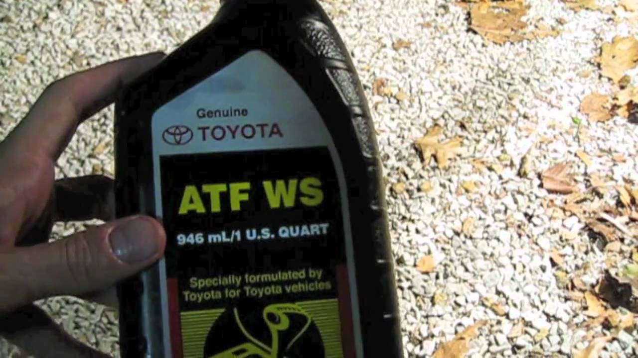 How To Change Transmission Fluid In An 07 Toyota Tacoma V6 Prerunner 2005 2010 Models Youtube