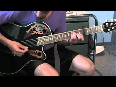 guitar tutorial: come thou fount - david crowder band