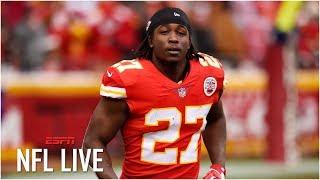 Are the Browns taking a risk signing Kareem Hunt? | NFL Live
