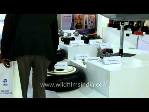 Hindustan Aeronautics Limited booth at Defexpo 2014
