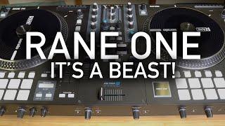 Rane One DJ Controller Quick Review - Built Like a Tank !!!