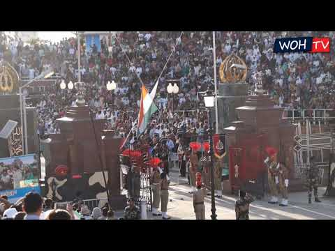 Republic Day 2018 | Retreat Ceremony | Wagah border | India & Pakistan | Indian Army | WOH TV