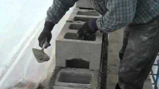 кладка шлакоблока(, 2011-03-02T14:50:45.000Z)