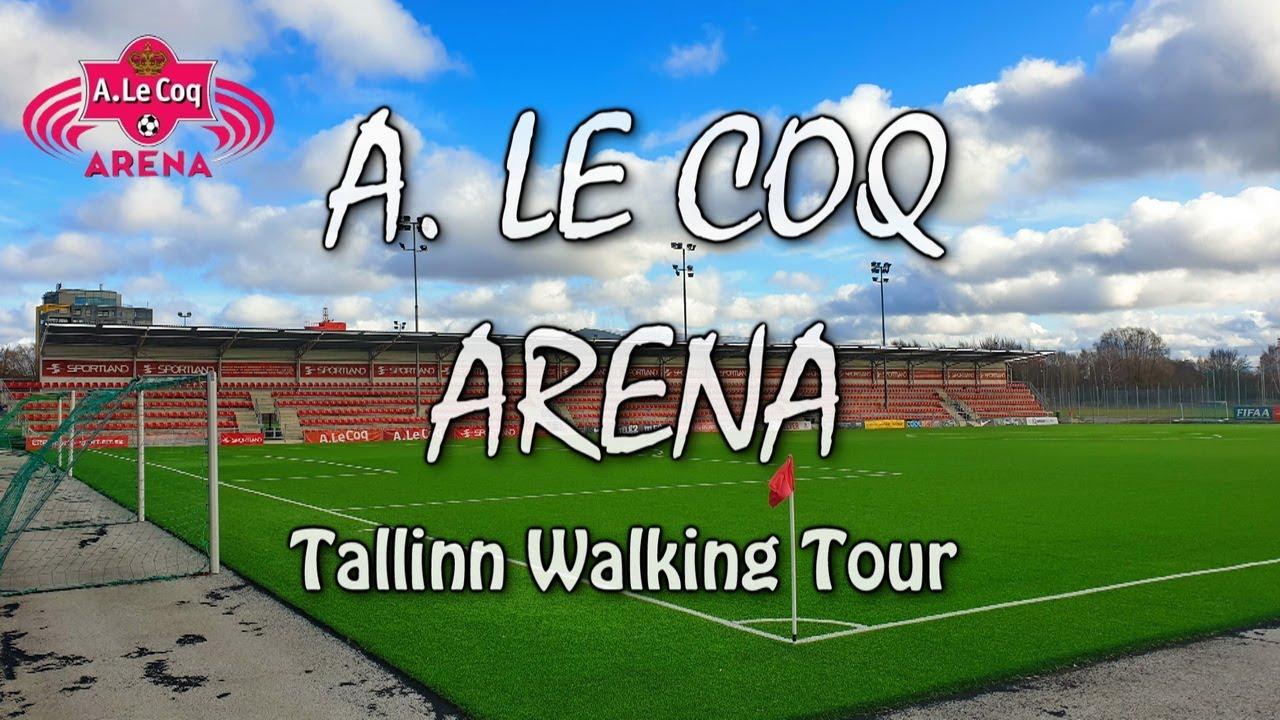 Tallinn Walking Tour | A. Le Coq Arena Surroundings | Jalgpalli ► Asula ► Magdaleena ► Tondi Streets