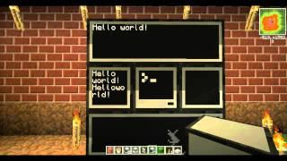 уроки Minecraft ComputerCraft. Урок 12 Мониторы