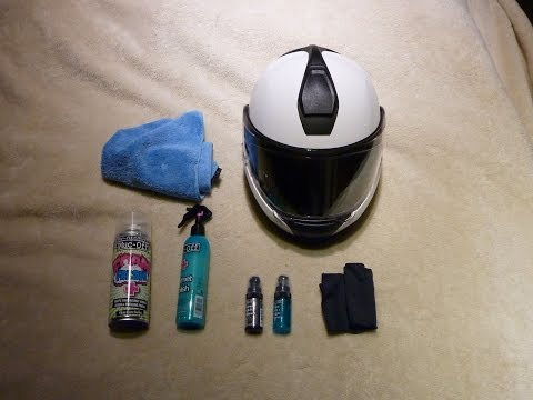 How to polish your helmet (MB)