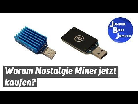 Nostalgie Bitcoin Miner - Warum jetzt kaufen?