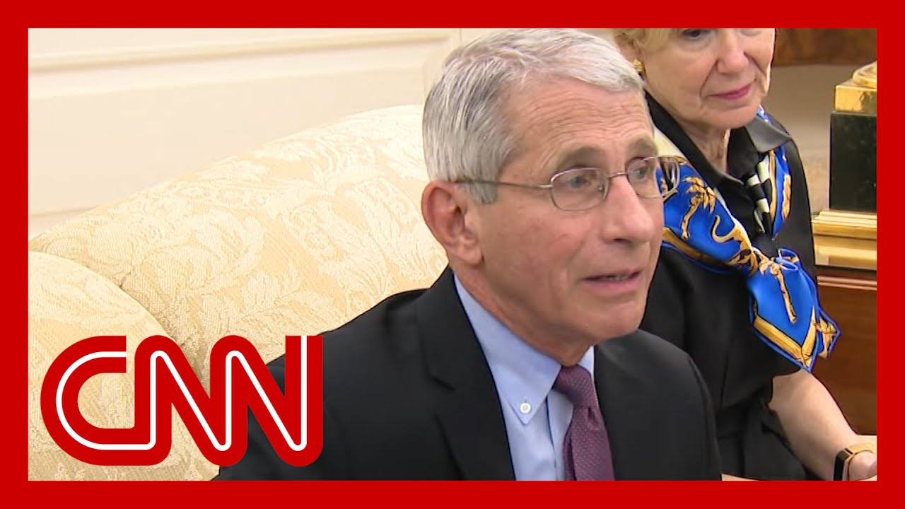 Fauci announces good news about coronavirus drug