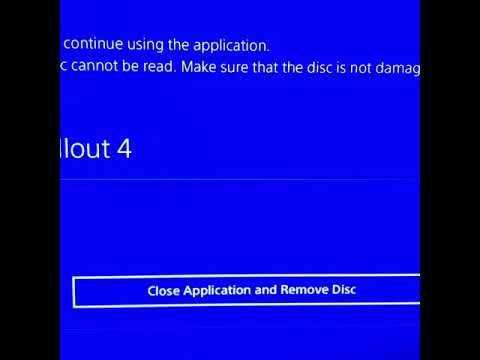 Ps4 close application and remove disc problem solved