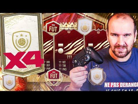 JE CRAQUE ENCORE ET J'OUVRE 4 PACKS ICONE PRIME - FIFA 21