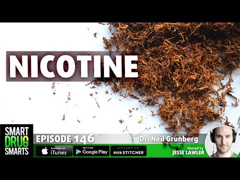 Episode 146- Nicotine: Pure Evil or Brain Fuel?