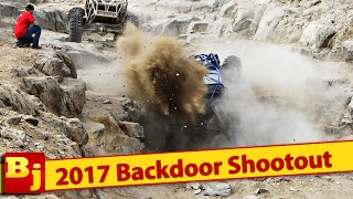 2017 King of the Hammers Backdoor Shootout Highlights