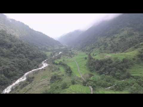Kbeshi Flyover Lamjung Nepal DJI Phantom 3