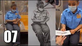 NYC Subway Sketch Reactions   Devon Rodriguez
